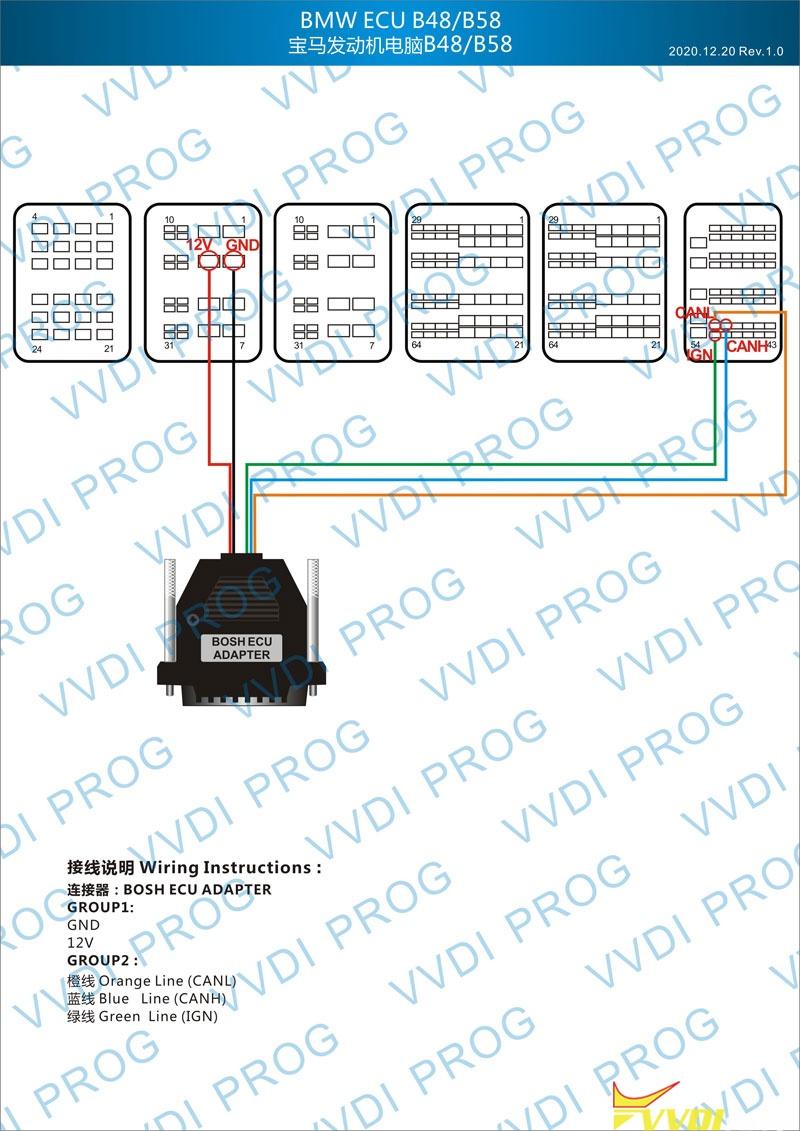 Vvdi Prog B48 B58 Wiring Diagram