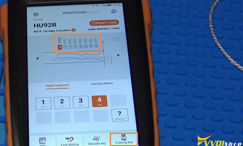Xhorse Dolphin Xp005 Machine Cut A Hu92 Bmw Key (6)