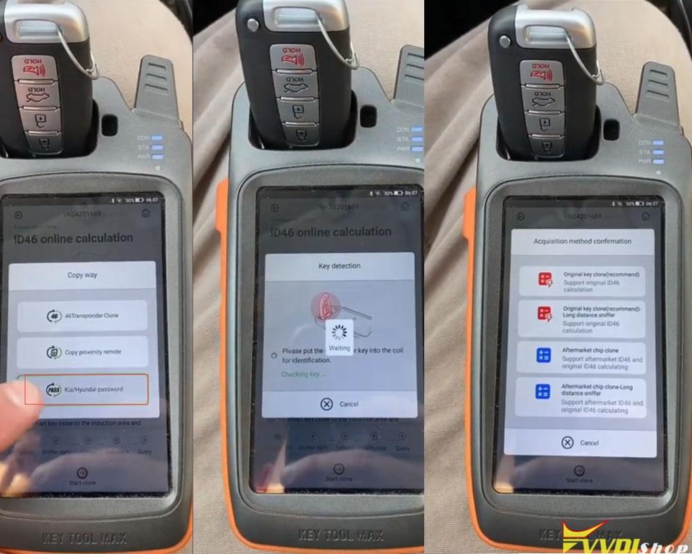 Xhorse Key Tool Max Hyundai Pincode 2