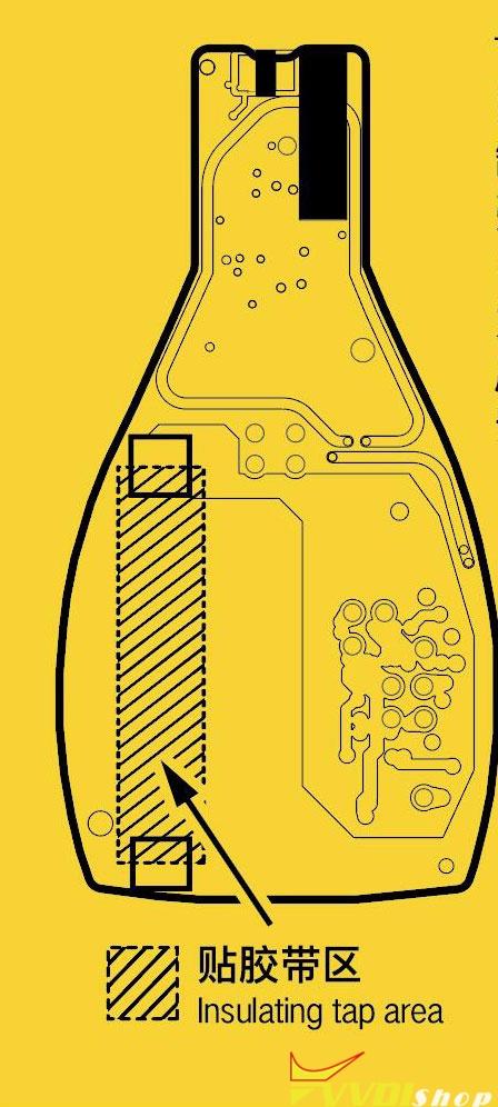 VVDI BE Fbs3 Smart Key Battery