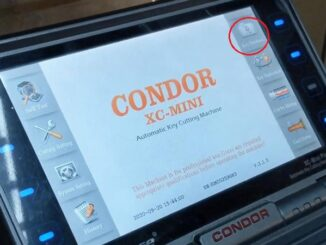Copy A Mercedes Sprinter W906 2007 2011 Key By Condor Xc Mini (1)