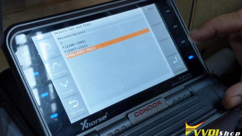 Copy A Mercedes Sprinter W906 2007 2011 Key By Condor Xc Mini (4)
