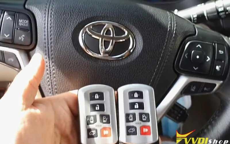 Vvdi Key Tool Max Mini Obd Tool Add A Key For Toyota Sienna 2018 (1)