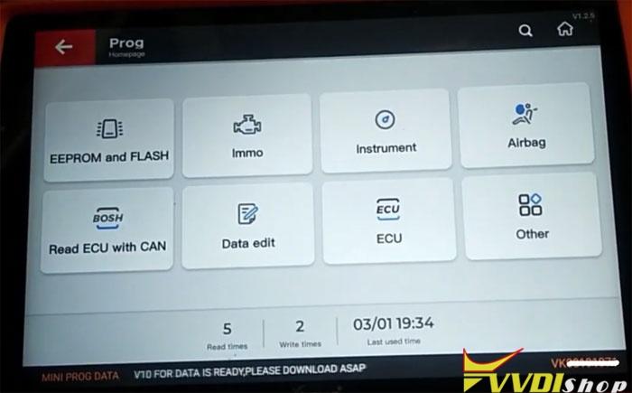 Vvdi Key Tool Plus Cayenne 2014 Key 7