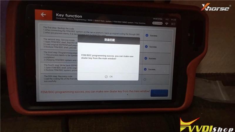 Vvdi Key Tool Plus Program Bmw 320d 2013 Fem Bdc All Key Lost (14)