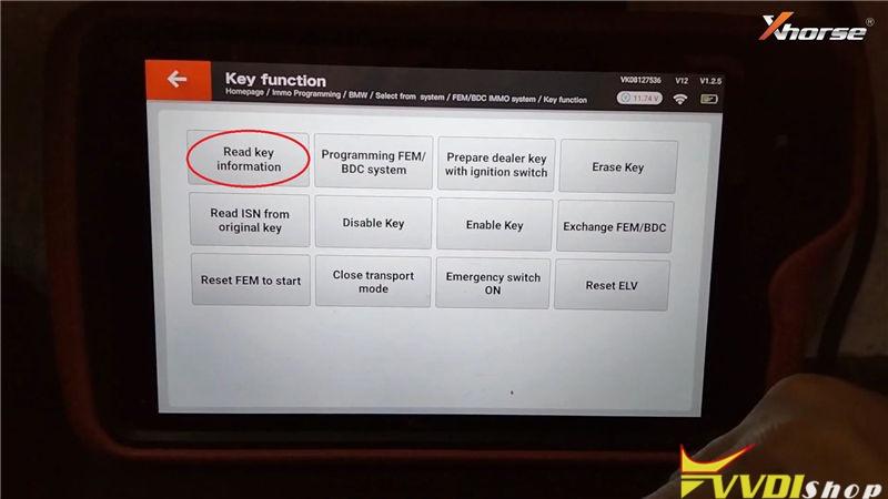 Vvdi Key Tool Plus Program Bmw 320d 2013 Fem Bdc All Key Lost (3)