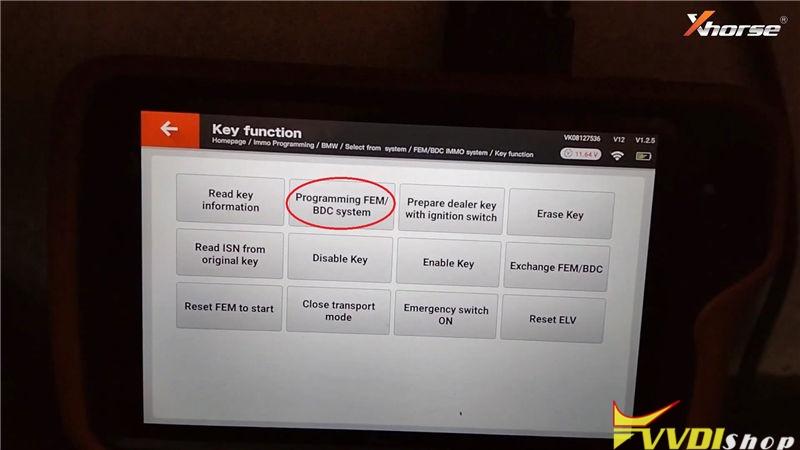 Vvdi Key Tool Plus Program Bmw 320d 2013 Fem Bdc All Key Lost (5)