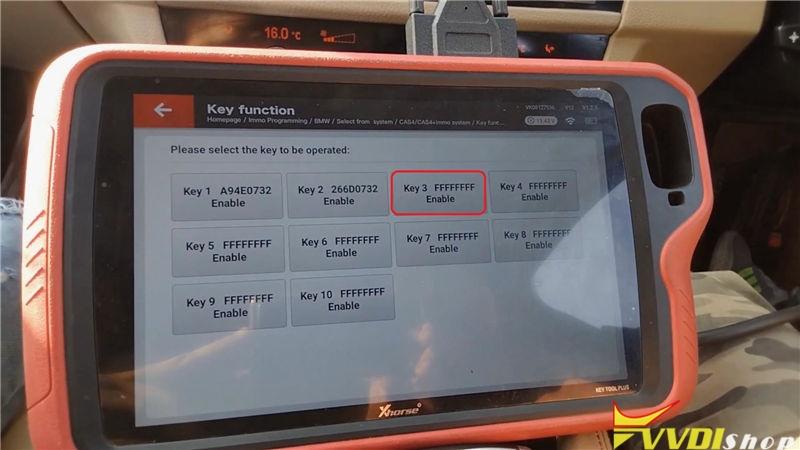 Vvdi Key Tool Plus Program Bmw 520d 2011 Cas4 Akl By Obd (13)