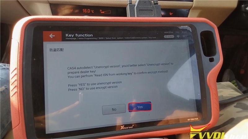 Vvdi Key Tool Plus Program Bmw 520d 2011 Cas4 Akl By Obd (14)