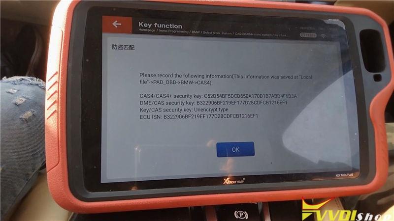 Vvdi Key Tool Plus Program Bmw 520d 2011 Cas4 Akl By Obd (15)