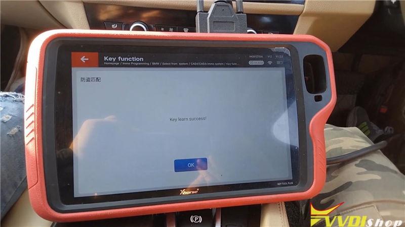 Vvdi Key Tool Plus Program Bmw 520d 2011 Cas4 Akl By Obd (17)