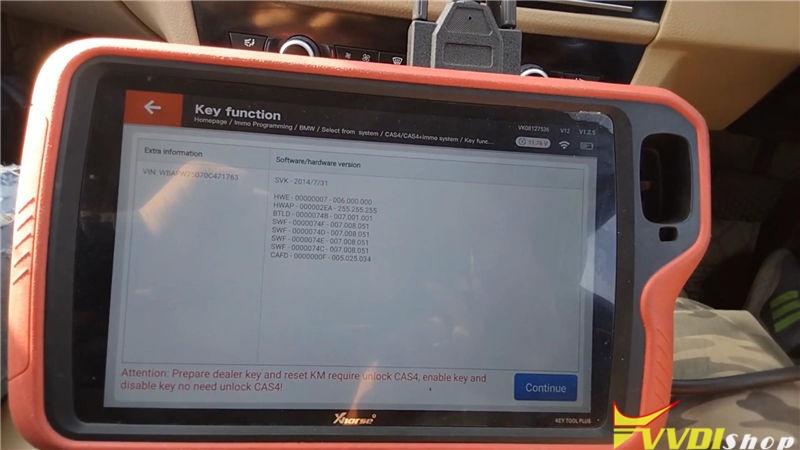 Vvdi Key Tool Plus Program Bmw 520d 2011 Cas4 Akl By Obd (6)