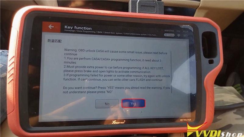 Vvdi Key Tool Plus Program Bmw 520d 2011 Cas4 Akl By Obd (9)
