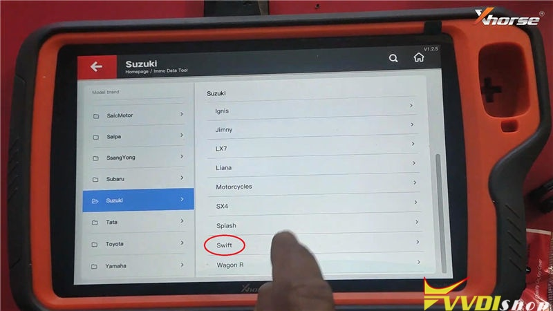 Vvdi Key Tool Plus Program Suzuki Swift 2012 93c86 Key By Eeprom (12)