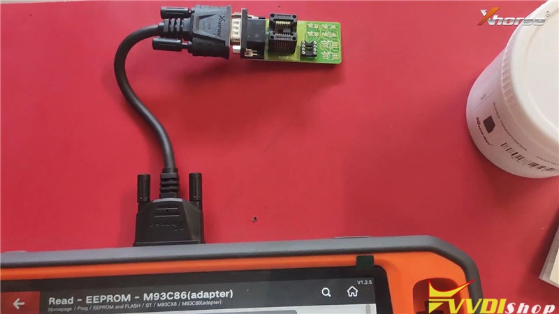 Vvdi Key Tool Plus Program Suzuki Swift 2012 93c86 Key By Eeprom (2)