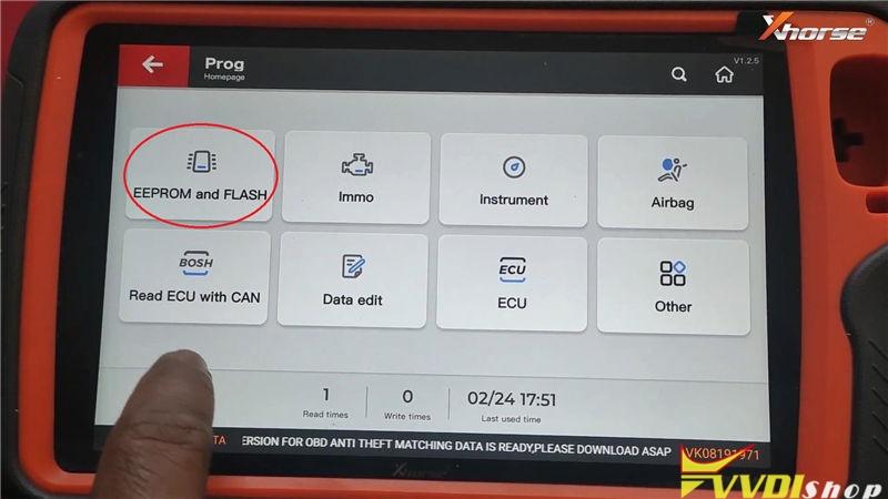 Vvdi Key Tool Plus Program Suzuki Swift 2012 93c86 Key By Eeprom (4)