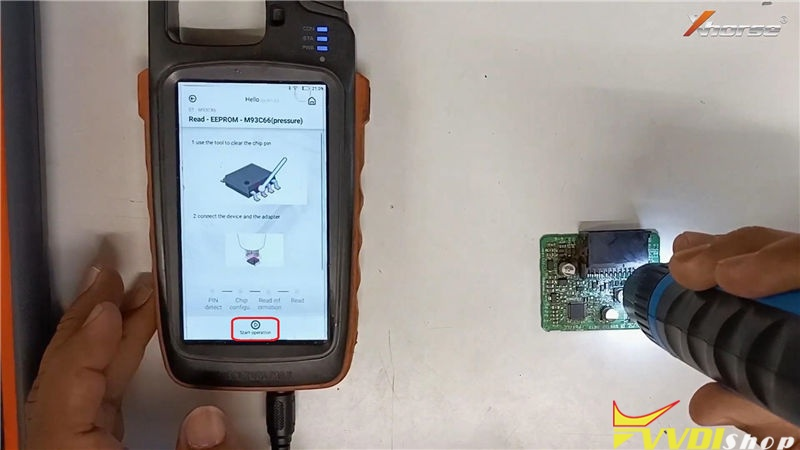 Vvdi Mini Prog Key Tool Max Program Toyota G Chip Id72 Key (5)