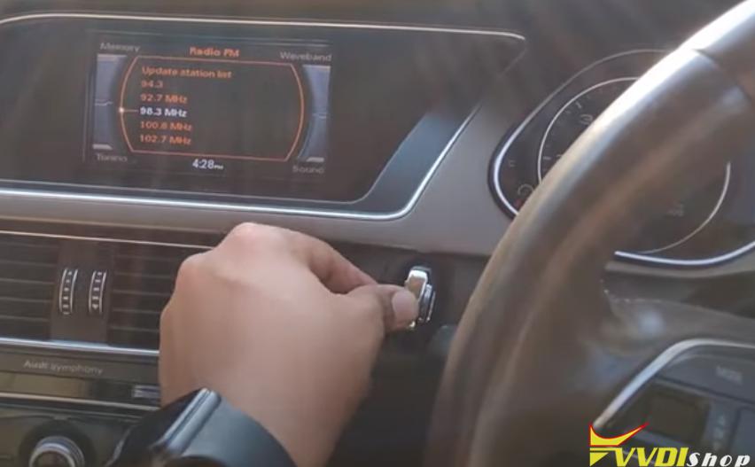 Xhorse Key Tool Plus Audi A4 2013 Akl 24