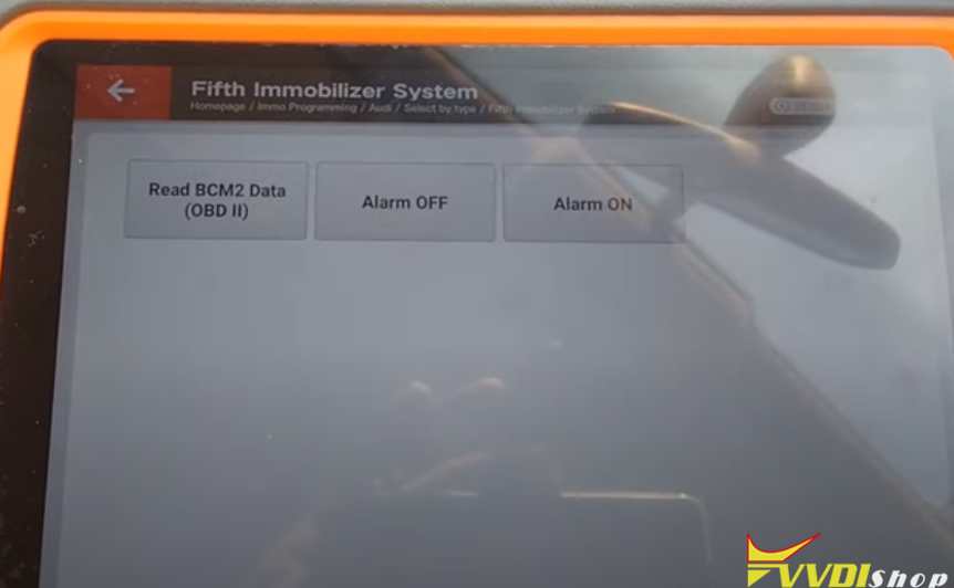 Xhorse Key Tool Plus Audi A4 2013 Akl 8