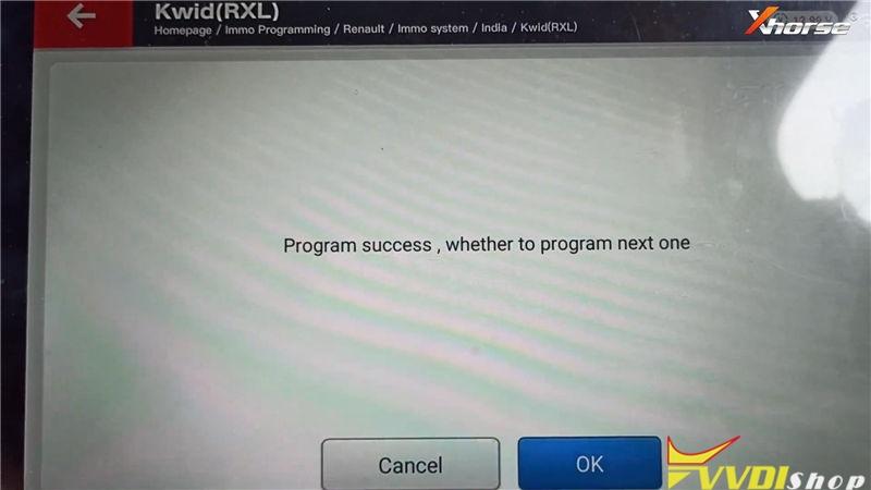 Xhorse Vvdi Key Tool Plus Program Keys For Renault Kwid Rxl (10)