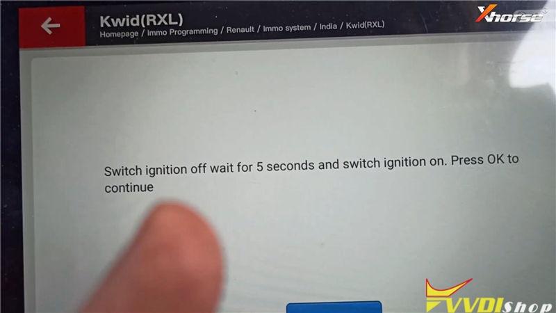 Xhorse Vvdi Key Tool Plus Program Keys For Renault Kwid Rxl (11)