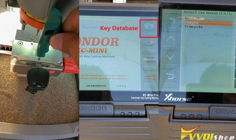 Condor Xc Mini Vvdi Key Tool Max Make A Key For Toyota Camry 2007 (1)