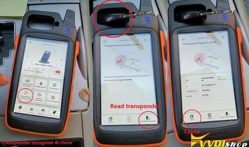 Condor Xc Mini Vvdi Key Tool Max Make A Key For Toyota Camry 2007 (4)