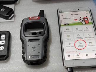 Renew Unlock Honda Cycle Key Via Vvdi Mini Key Tool (1)
