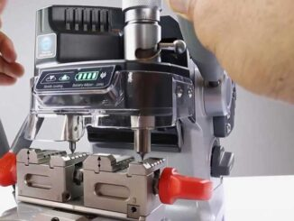 Setup Calibrate Dolphin Xp007 Key Cutting Machine (9)