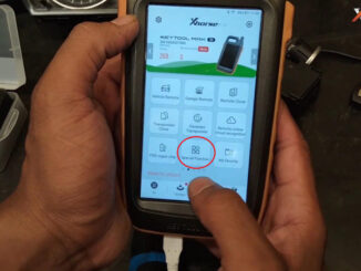 Vvdi Key Tool Max Mini Prog Add Key For Bmw Cas3 On Bench (11)