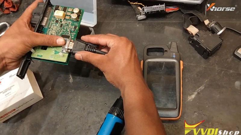 Vvdi Key Tool Max Mini Prog Add Key For Bmw Cas3 On Bench (5)