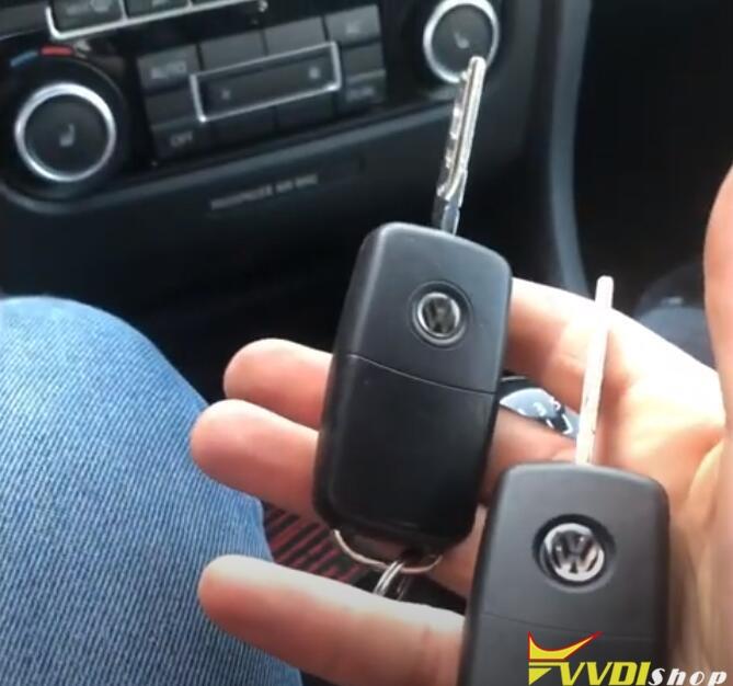 Vw Golf 6 Key Tool Plus 5