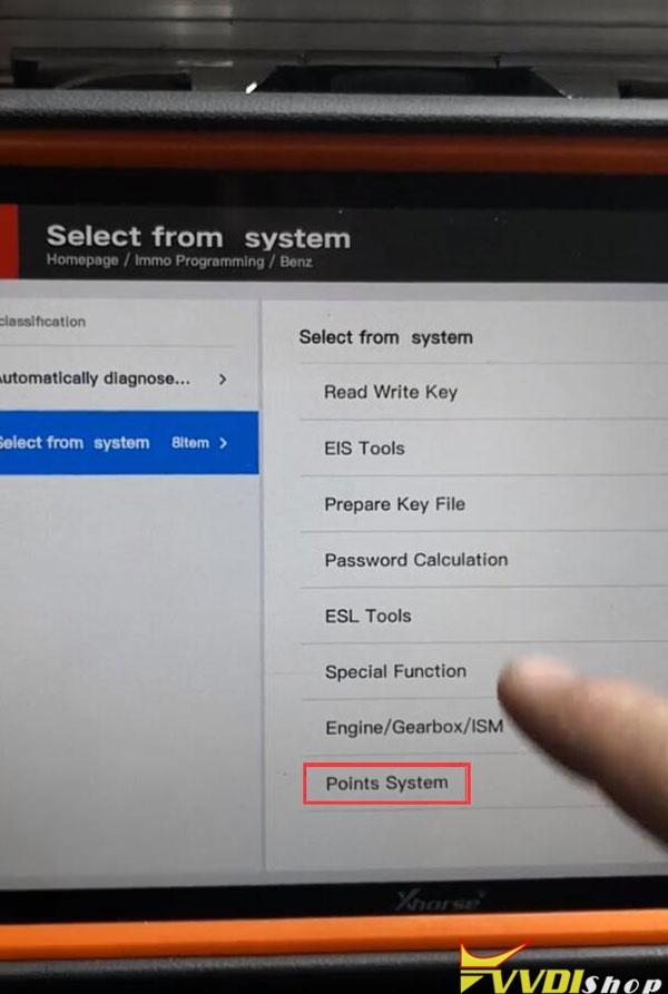Xhorse Key Tool Plus Mb Points 3