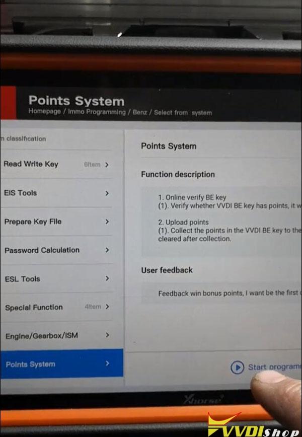 Xhorse Key Tool Plus Mb Points 4
