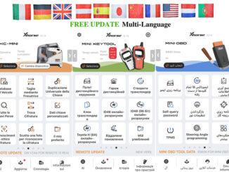 Xhorse Tools Free Language