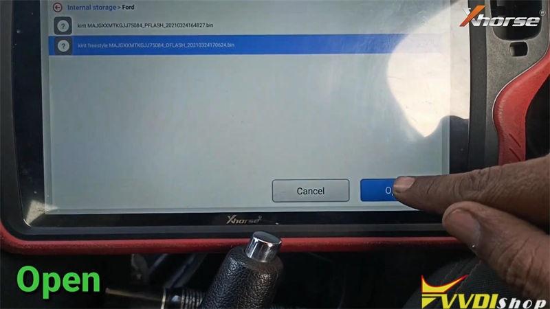 Xhorse Vvdi Key Tool Plus Add Key Id49 For Ford Freestyle 2018 (9)