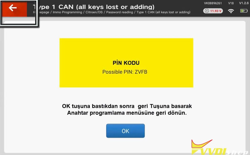 Xhorse Vvdi Key Tool Plus Adds A Key For 2010 Citroen Berlingo (5)