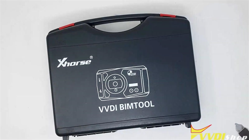 2021 Xhorse Vvdi Bimtool Pro Package Unboxing Review (1)