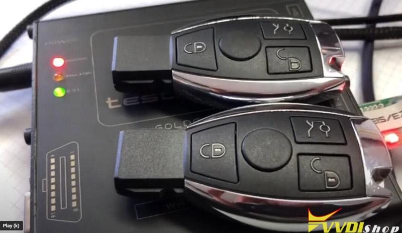Benz W906 All Keys Lost Vvdi Mb 23