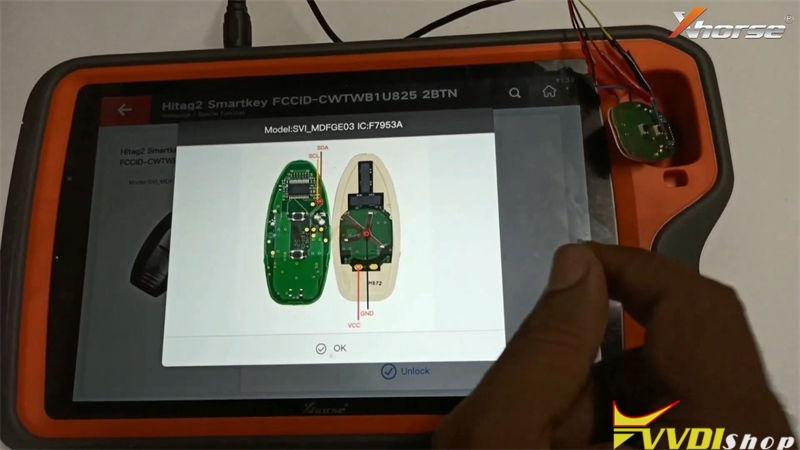 Unlock Nissan Micra Smart Key By Xhorse Vvdi Key Tool Plus (7)