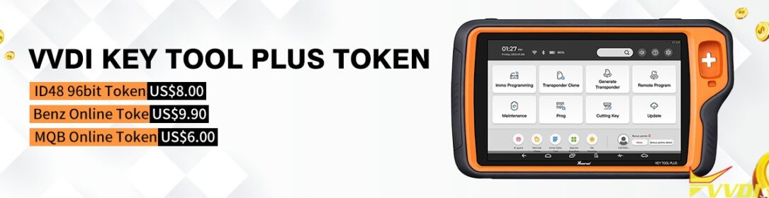 Vvdi Key Tool Plus Token