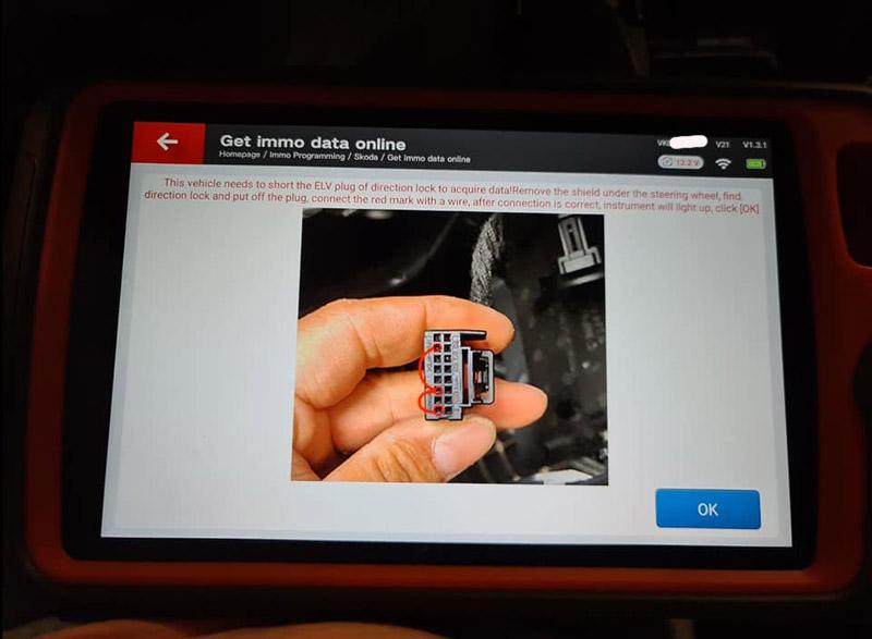 Xhorse Key Tool Plus Skoda Octavia 2015 AKL 4