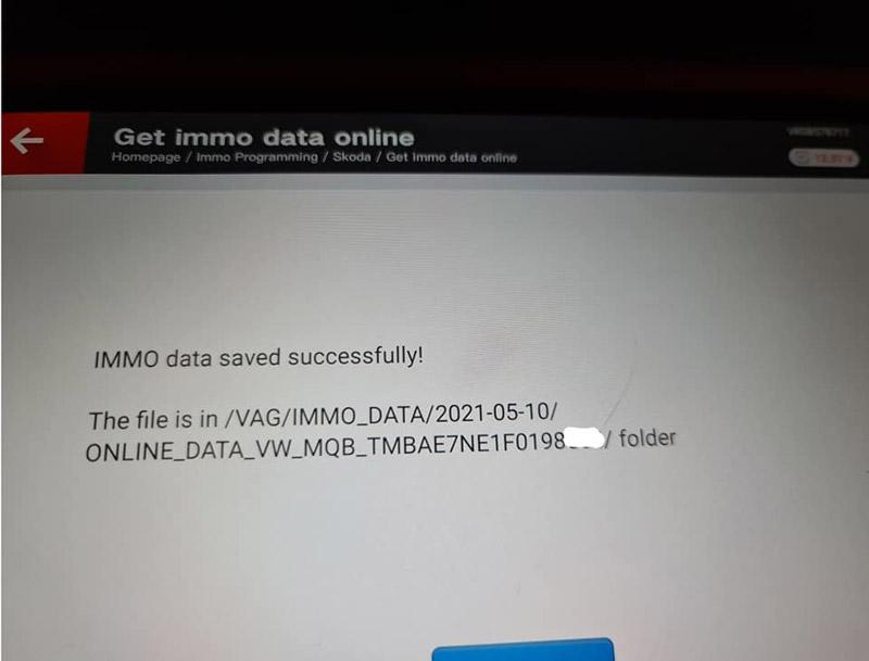 Xhorse Key Tool Plus Skoda Octavia 2015 AKL 5