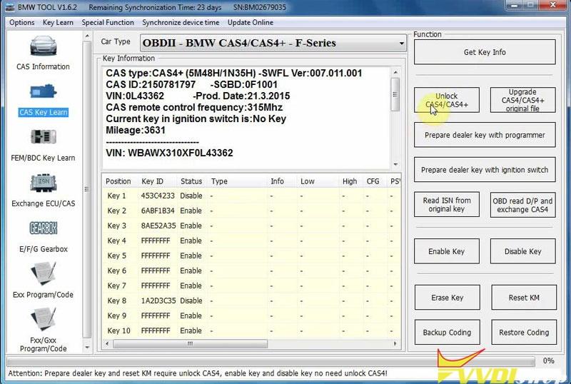 Xhorse Vvdi Bimtool Pro Unlock Bmw Cas4 Cas4+ Via Doip (5)