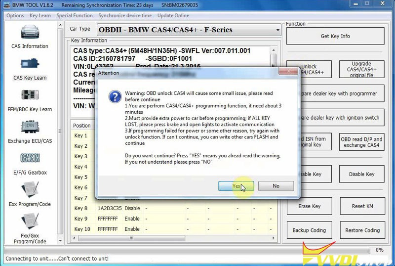 Xhorse Vvdi Bimtool Pro Unlock Bmw Cas4 Cas4+ Via Doip (6)