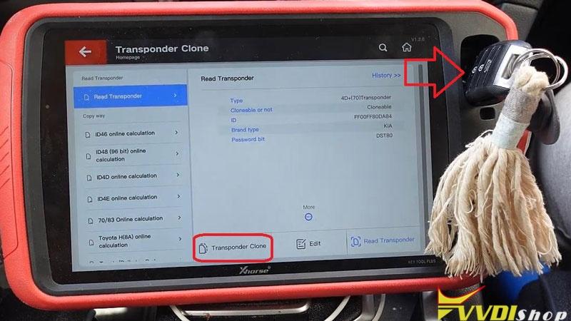 Xhorse Vvdi Key Tool Plus Adds A Key For 2016 Kia Sportage (12)