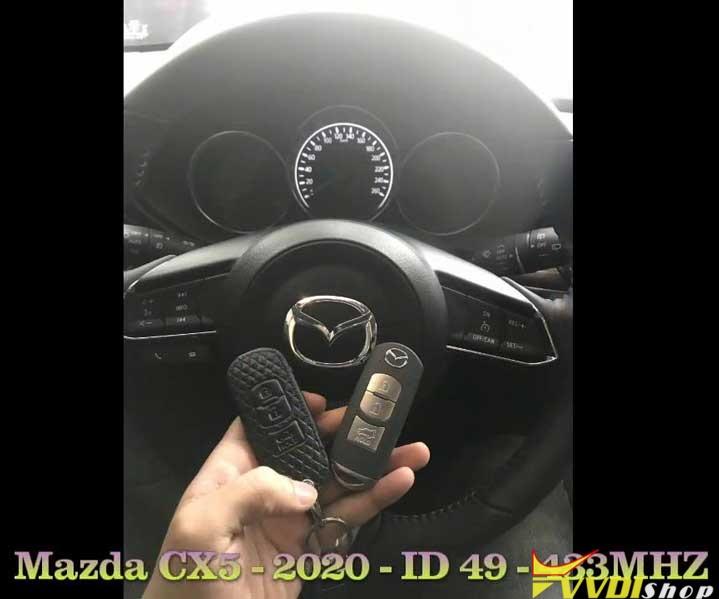 Xhorse Vvdi Key Tool Plus Adds A Key For Mazda Cx5 2020 Success (1)