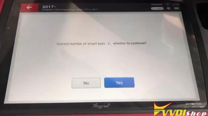 Xhorse Vvdi Key Tool Plus Adds A Key For Mazda Cx5 2020 Success (6)