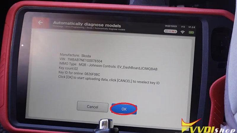 Xhorse Vvdi Key Tool Plus Adds A Key For Skoda Octavia 2017 (7)