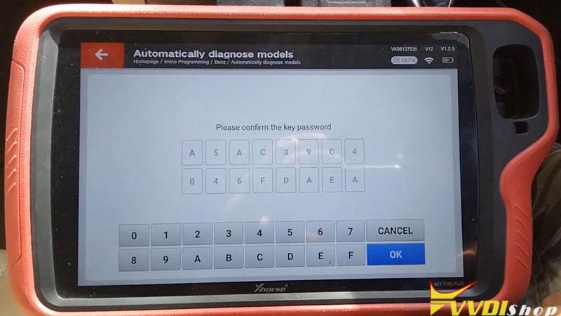 Xhorse Vvdi Key Tool Plus Adds Benz C250 2007 W204 Key By Obd (13)